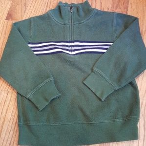 Old Navy Cotton Knit Mock T half zip Sweater